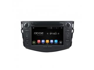 Штатная автомагнитола Carmedia KD-7606 для Toyota RAV4 на Android 5.1