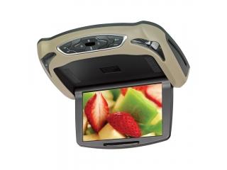 """MyDean IS-108 10"""" Потолочный монитор с DVD/SD/USB бежевый/черный/серый"""