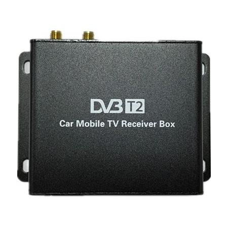 Цифровой ТВ-тюнер Carmedia DVB-T2 2 антенны