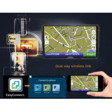 Штатная магнитола Carmedia KD-1100-P6 для Suzuki Vitara 2015+ c DSP процессором на Android 10