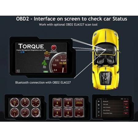 Штатная магнитола Carmedia KD-7249-P30 для Toyota Avensis 2009-2013 c DSP процессором на Android 10