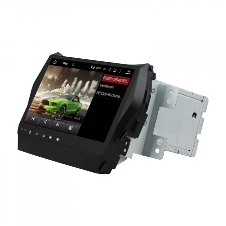 Штатная магнитола Carmedia KD-9605-P6 для Hyundai Santa Fe 2012+ c DSP процессором на Android 10