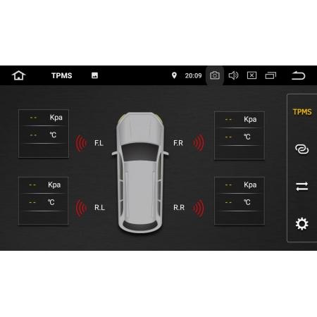 Штатная магнитола Carmedia KD-9619-P6 для Renault Logan c DSP процессором на Android 10