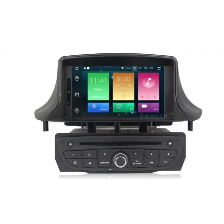 Штатная магнитола Carmedia MKD-R709-P30 для Renault Megane III 2009+, Fluence 2010+ с DSP процессором на Android 10