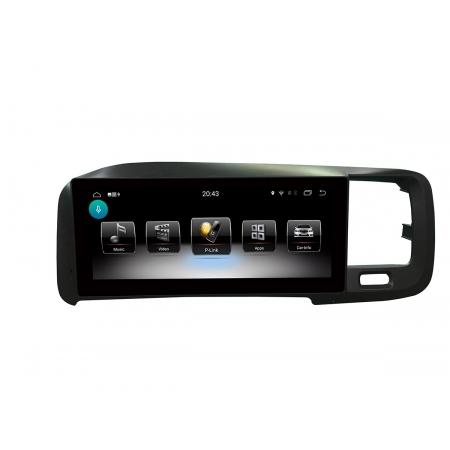 Штатная магнитола Carmedia XN-V8001 для Volvo S60, V60 2011-2014 на Android 9
