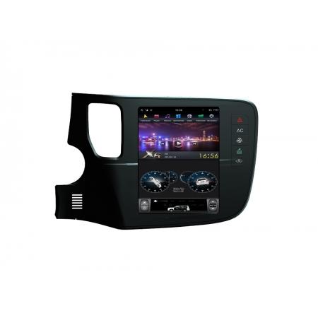 Головное устройство в стиле Тесла FarCar ZF1006 для Mitsubishi Outlander с матрицей IPS HD на Android