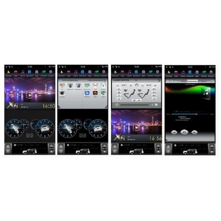 Головное устройство в стиле Тесла FarCar ZF362 для Ford Kuga 2012+ с матрицей IPS HD на Android