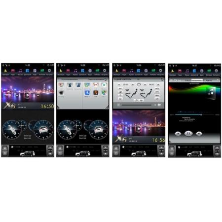 Головное устройство в стиле Тесла FarCar ZF382-2 для Toyota LC 200 2007-2015 с матрицей IPS HD на Android