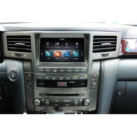 Головное устройство в стиле Тесла FarCar ZF571 для Lexus LX 570 2007-2015 с матрицей IPS HD на Android