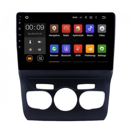 Штатная магнитола Roximo RX-2906 для Citroen C4 2010+ c DSP процессором и 4G Sim на Android 10