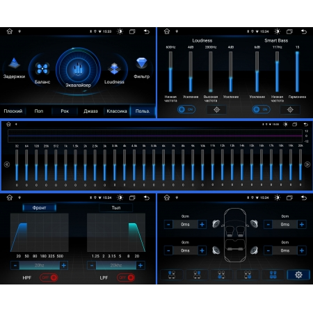 Штатная магнитола Roximo RX-3403 для Subaru Forester 2008-2012 c DSP процессором и 4G Sim на Android 10