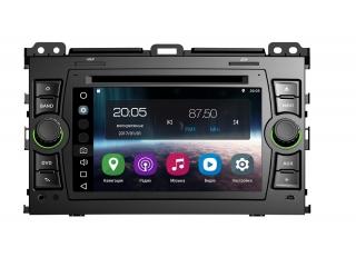Штатная магнитола FarCar V456 (серия s200) для Toyota Land Cruiser Prado 120 на Android V456