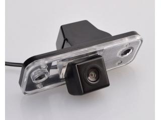 Штатная камера заднего вида Carmedia CMD-7547S для Hyundai Santa Fe (до 2012 г.)