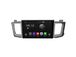 Штатная магнитола Carmedia KD-1034-P30 для Toyota RAV4 2013+ c DSP процессором на Android 9