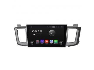 Штатная магнитола Carmedia KD-1034-P6 для Toyota RAV4 2013+ c DSP процессором на Android 9