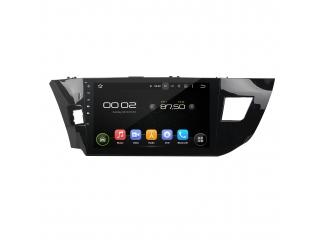 Штатная магнитола Carmedia KD-1035-P30 для Toyota Corolla E180, E170 2013+ c DSP процессором на Android 9