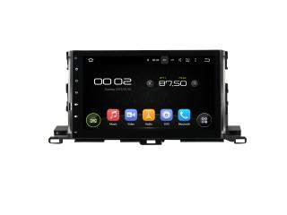 Штатная магнитола Carmedia KD-1036-P6 для Toyota Highlander 2014+ c DSP процессором на Android 9