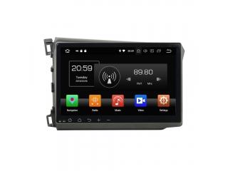 Штатная магнитола Carmedia KD-1056-P30 для Honda Civic IX 2012-2013 c DSP процессором на Android 9