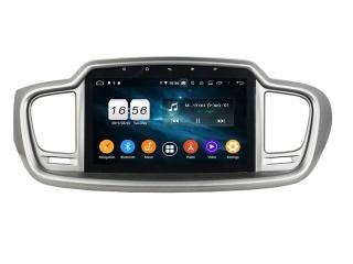 Штатная магнитола Carmedia KD-1074-P6 для Kia Sorento Prime c DSP процессором на Android 9