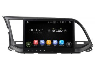 Штатная магнитола Carmedia KD-1088-P6 для Hyundai Elantra 2016+ c DSP процессором на Android 9
