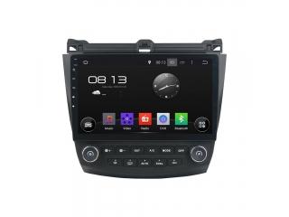 Штатная магнитола Carmedia KD-1218-P30 для Honda Accord 2003-2007 c DSP процессором на Android 9