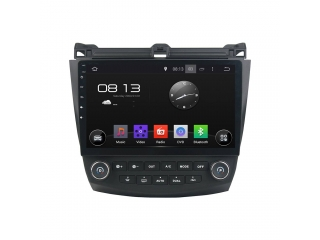 Штатная магнитола Carmedia KD-1218-P6 для Honda Accord 2003-2007 c DSP процессором на Android 9