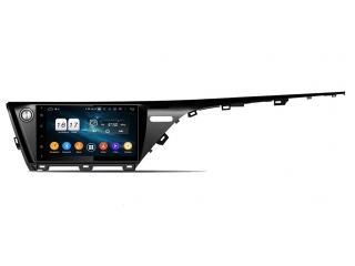 Штатная магнитола Carmedia KD-1595-P6 для Toyota Camry V70 (высокая комлектация) c DSP процессором на Android 9