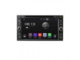 Штатная магнитола Carmedia KD-6957-P6 для Toyota Универсальная c DSP процессором на Android 9