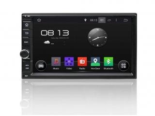 Штатная магнитола Carmedia KD-7000-P30 2DIN Универсальная c DSP процессором на Android 9