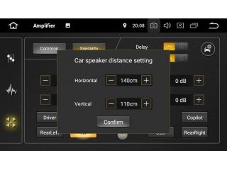Штатная магнитола Carmedia KD-7249-P6 для Toyota Avensis 2009-2013 c DSP процессором на Android 10