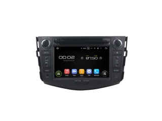 Штатная магнитола Carmedia KD-7606-P6 для Toyota RAV4 2006-2012 c DSP процессором на Android 9