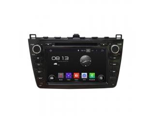 Штатная магнитола Carmedia KD-8001-P6-b для Mazda 6 2007-2012 (черная) c DSP процессором на Android 9
