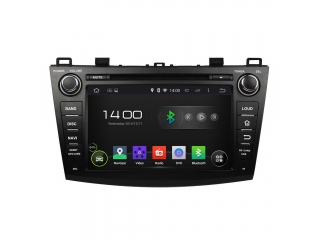 Штатная магнитола Carmedia KD-8003-P6 для Mazda 3 2009-2013 c DSP процессором на Android 9