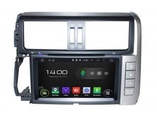 Штатная магнитола Carmedia KD-8015-P6 для Toyota LC Prado 150 2009-2013 c DSP процессором на Android 9