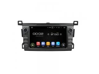 Штатная магнитола Carmedia KD-8017-P30 для Toyota RAV4 2013+ c DSP процессором на Android 9