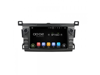 Штатная магнитола Carmedia KD-8017-P6 для Toyota RAV4 2013+ c DSP процессором на Android 9
