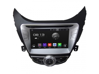 Штатная магнитола Carmedia KD-8028-P30 для Hyundai Elantra 2011-2012 c DSP процессором на Android 9