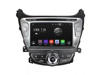 Штатная магнитола Carmedia KD-8054-P5 для Hyundai Elantra 2013+ c DSP процессором на Android 9
