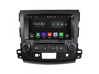 Штатная магнитола Carmedia KD-8063-P6 для Mitsubishi Outlander XL 2006-2012, Peugeot 4007 2007-2012, Citroen C-Crosser 2007-2012 c DSP процессором на Android 9