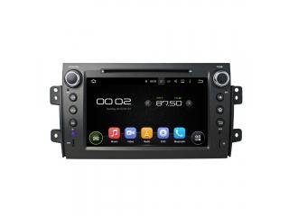 Штатная магнитола Carmedia KD-8072-P5 для Suzuki SX4 2006+ c DSP процессором на Android 9