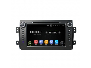 Штатная магнитола Carmedia KD-8072-P6 для Suzuki SX4 2006+ c DSP процессором на Android 9