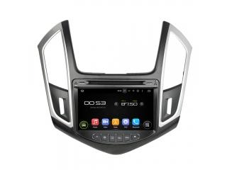 Штатная магнитола Carmedia KD-8087-P6 для Chevrolet Cruze 2013-2015c DSP процессором на Android 9