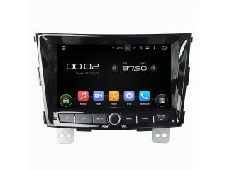 Штатная магнитола Carmedia KD-8116-P5 для Ssang Yong Tivoli c DSP процессором на Android 9