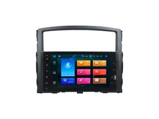 Штатная магнитола Carmedia KD-8238-P6 для Mitsubishi Pajero 4 c DSP процессором на Android 9