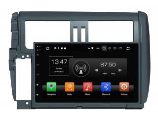 Штатная магнитола Carmedia KD-9025-P6 для Toyota LC Prado 150 2009-2013 c DSP процессором на Android 9