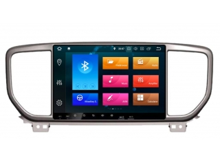 Штатная магнитола Carmedia KD-9403-P5 для Kia Sportage 2018+ c DSP процессором на Android 9
