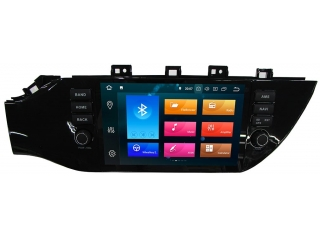 Штатная магнитола Carmedia KD-9638-P30 для Kia Rio 2017+ c DSP процессором на Android 9
