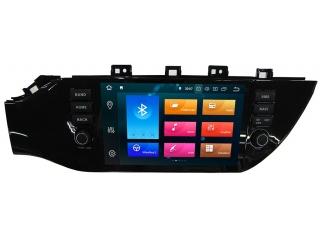 Штатная магнитола Carmedia KD-9638-P6 для Kia Rio 2017+ c DSP процессором на Android 9