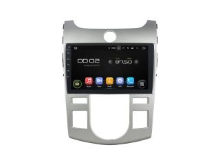 Штатная магнитола Carmedia KD-9702-P5 для Kia Cerato 2008-2013 (с климат-контролем) c DSP процессором на Android 9