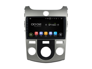 Штатная магнитола Carmedia KD-9703-P30 для Kia Cerato 2008-2013 (с кондиционером) c DSP процессором на Android 9